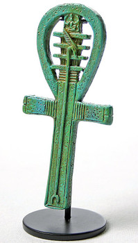 Ankh Djed Was Amulet Egyptian Statue