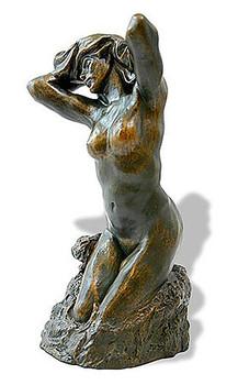 Toilette De Venus The Bather Sculpture (1885) by Auguste Rodin