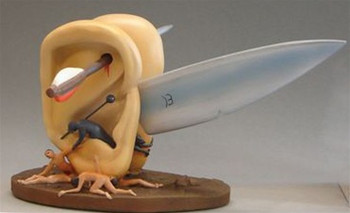 2ed655cb8cc Ears with Knife Larger Statue by Hieronymus Bosch
