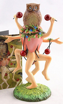 Owl Bird Headed Dancer Statue by Hieronymus Bosch