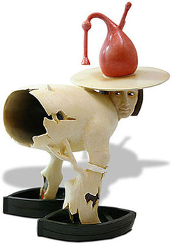 Tree Man Statue from Garden of Earthly Delights by Hieronymus Bosch