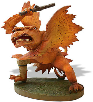 Winged Beast Statue by Grunewald