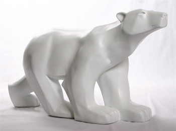 Extra Large Polar Bear Statue by Francois Pompon