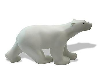 Polar Bear Statue by Francois Pompon