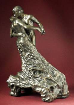 Large The Waltz Statue by Camile Claudel