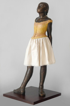 Grande Little Dancer Ballerina Statue by Edgar Degas