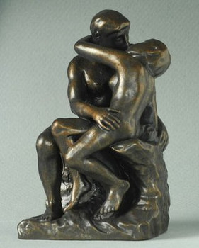 Miniature The Kiss Statue by Auguste Rodin
