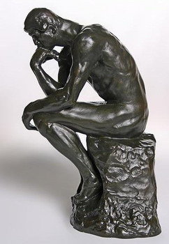 Grande The Thinker Statue by Auguste Rodin