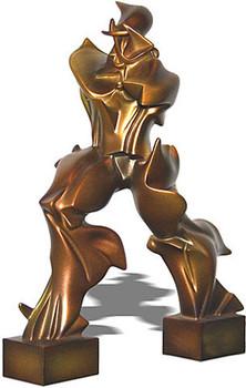 Futuristic Man Statue by Boccioni