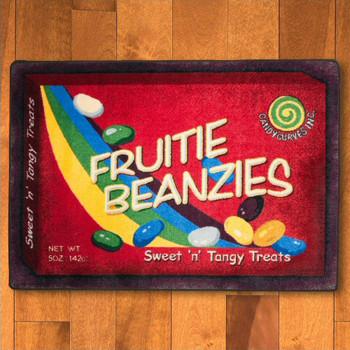 4' x 5' Fruitie Beanzies Movie Theater Rectangle Rug