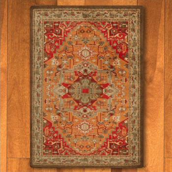 4' x 5' Persia Glow Persian Style Rectangle Rug