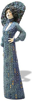 Emilie Floge Portrait Statue (1902) by Gustav Klimt