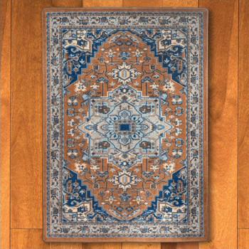 4' x 5' Persia Caramel Persian Style Rectangle Rug
