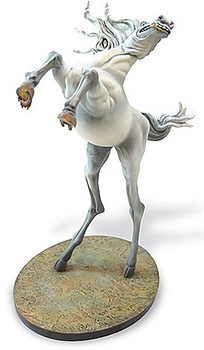 Horse Temptation of Saint Anthony Statue by Salvador Dali