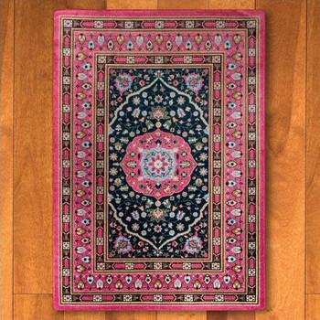 4' x 5' Zanza Cardinal Persian Style Rectangle Rug
