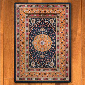 4' x 5' Zanza Bloom Persian Style Rectangle Rug