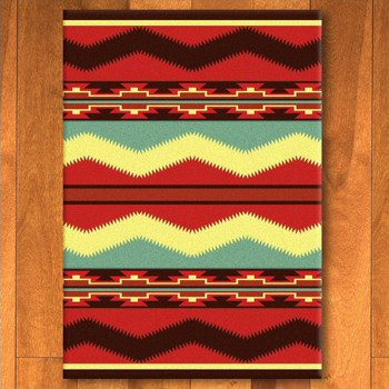 4' x 5' Scout Fiesta Southwest Rectangle Rug