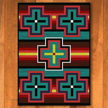 4' x 5' Bounty Bright Southwest Rectangle Rug