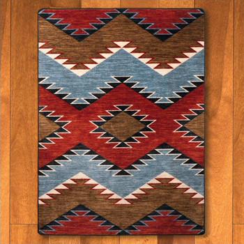 4' x 5' Heritage Multi Southwest Rectangle Rug