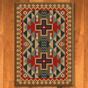 4' x 5' Tribesman Kilim Southwest Rectangle Rug