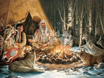 Spirit Seekers Native American Art Print Wall Art