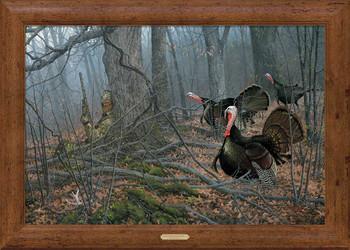 If Looks Could Kill Turkey Hunting Framed Canvas Art Print Wall Art
