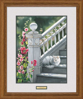 Sophie's Place Cat Framed Art Print Wall Art