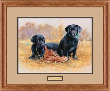 That's My Puppy Black Labs Framed Art Print Wall Art