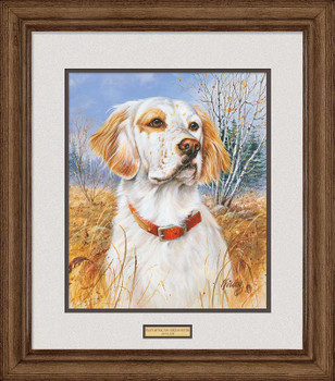 That's My Dog, Too! English Setter Framed Art Print Wall Art