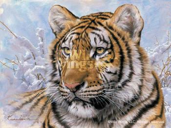 Siberian Tiger Canvas Giclee Art Print Wall Art