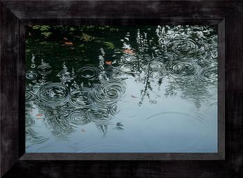 Ending Rain Framed Canvas Giclee Art Print Wall Art