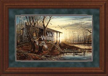 Morning Retreat Scenic Premium Framed Elite Art Print Wall Art