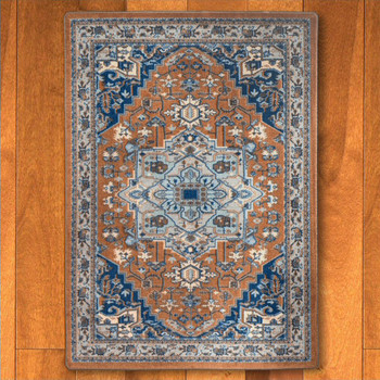 5' x 8' Persia Caramel Persian Style Rectangle Rug