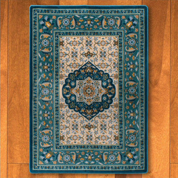 5' x 8' Bristol Worn Navy Persian Style Rectangle Rug