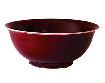 Oxblood Porcelain Bowl