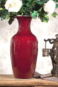 Oxblood Porcelain Vase