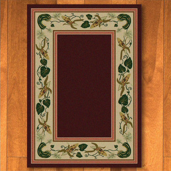5' x 8' Three Sisters Garnet Cherokee Inspired Rectangle Rug