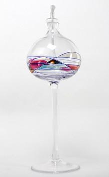 "8.25"" Milano Romanian Crystal Oil Lamp"