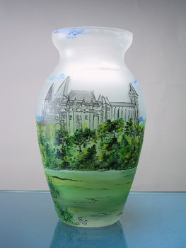 Castle Hunedoara Crystal Vase Limited to 100 Pieces