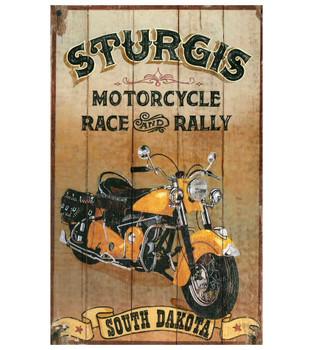 Custom Sturgis Motorcycle Vintage Style Metal Sign