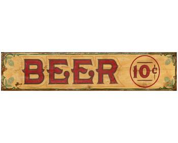 Custom Beer Vintage Style Metal Sign