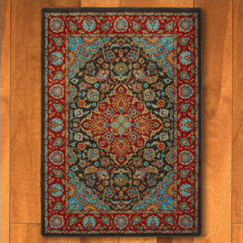 8' x 11' Montreal Desert Persian Style Rectangle Rug
