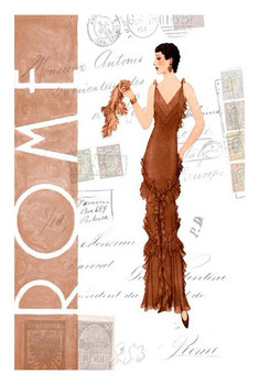 Custom Rome Fashion Vintage Style Metal Sign