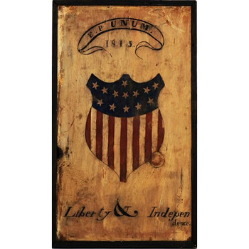 Custom Liberty Vintage Style Metal Sign