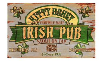 Custom Irish Stout Vintage Style Metal Sign