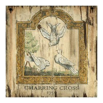 Custom Doves 1750 Charring Cross London Vintage Style Metal Sign