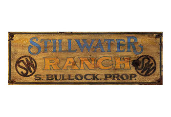 Custom Stillwater Ranch Vintage Style Metal Sign