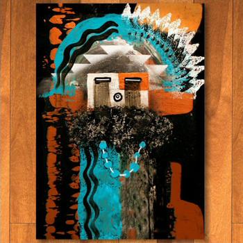 8' x 11' Boogie Rust Navajo Style Rectangle Rug