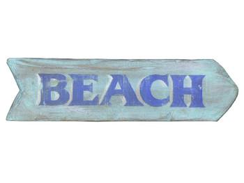Custom Beach Vintage Style Wooden Sign