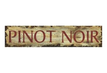 Custom Pinot Noir Vintage Style Wooden Sign